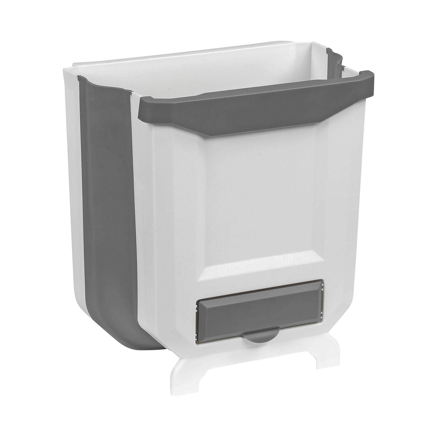 folding hanging collapsible trash can